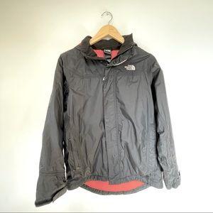 North Face fleece-lined  raincoat